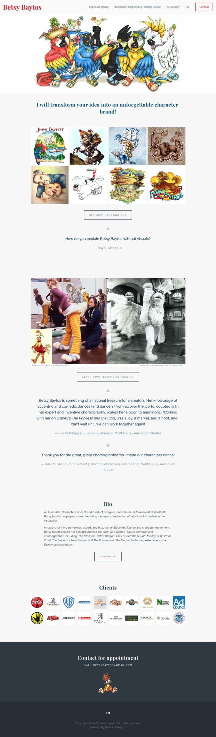 Betsy Baytos Home Page
