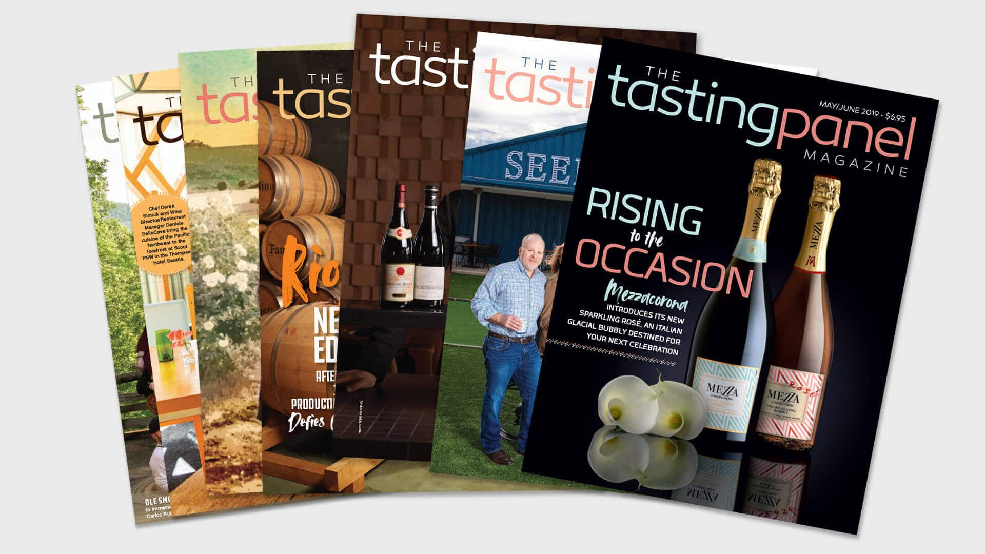 The Tasting Panel Magazine covers